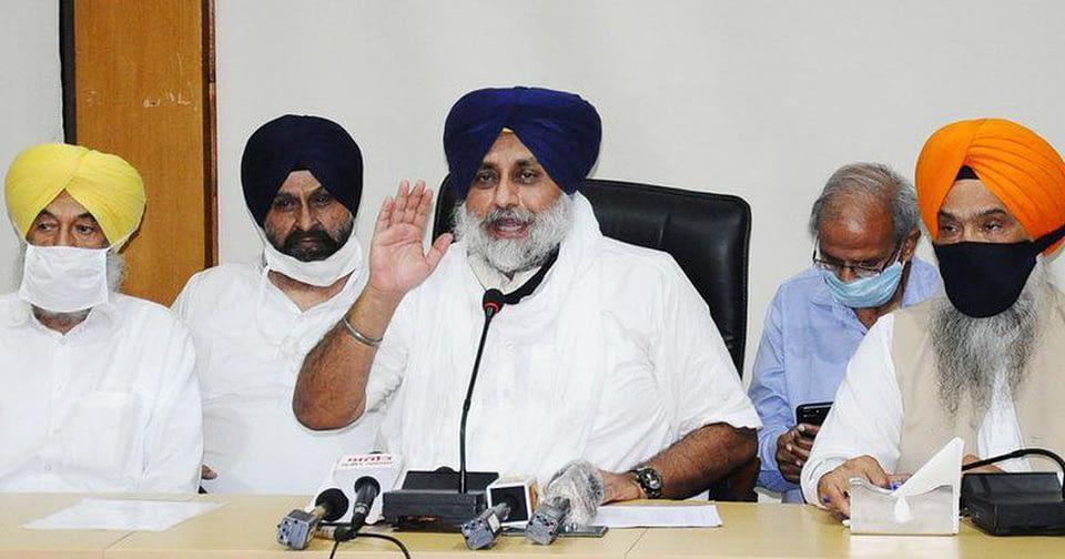 Sukhbir Badal criticises former ally amid farm law protests, says BJP real tukde tukde gang