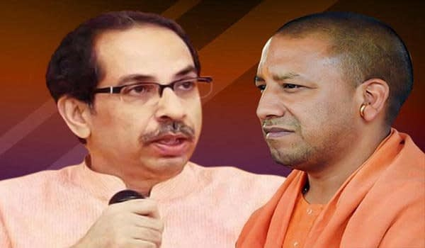 Uddhav Thackeray and Yogi Adityanath