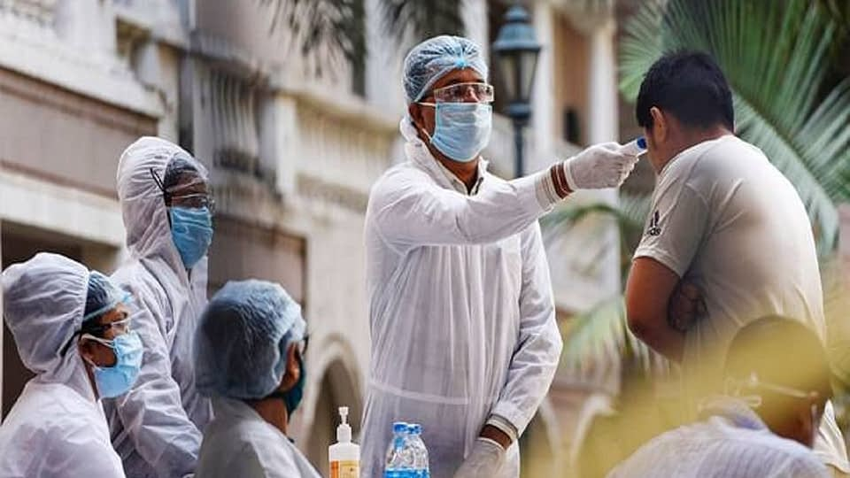 delhi covid test international media