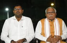 dushyant chautala and khattar