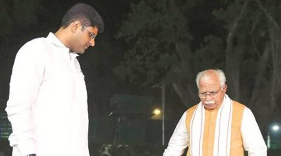 Khattar, Dushyant to meet Shah
