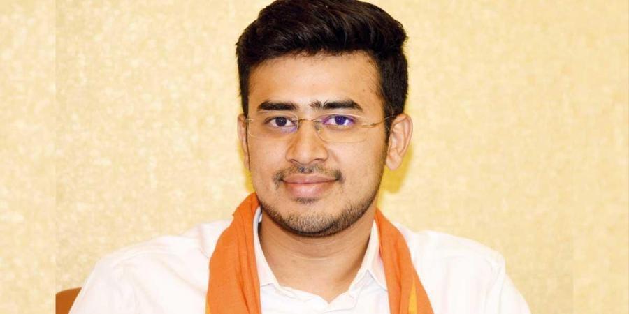 BJP MP Tejaswi Surya attacks TRS