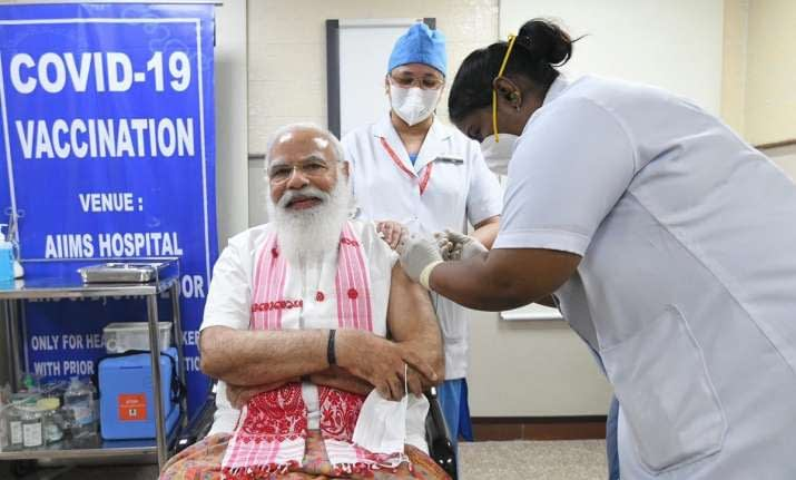 pm taking vaccine