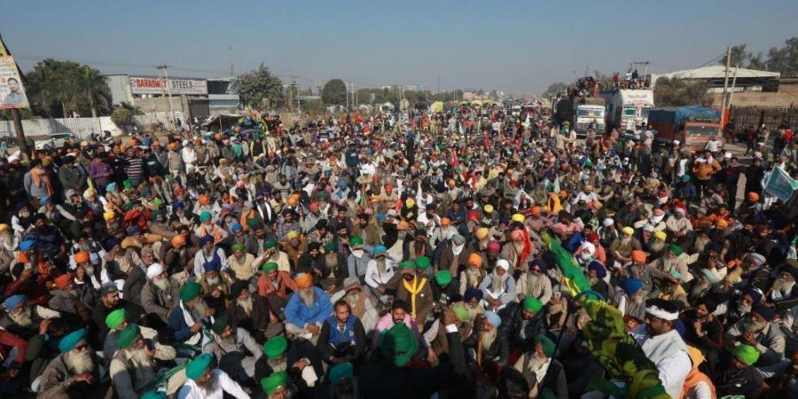 delhi borders farmers protest
