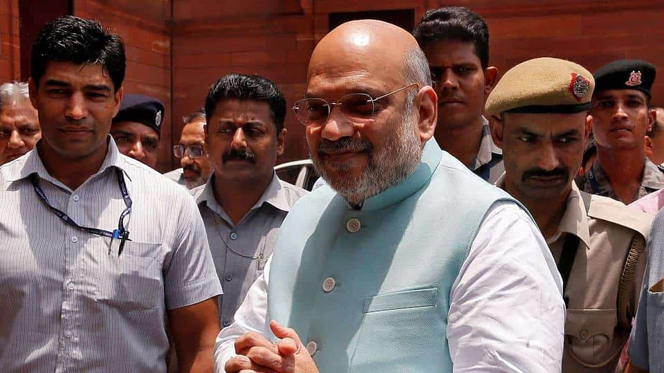 Home Minister Amit Shah COVID Test