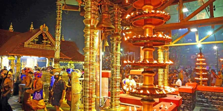 Lord Ayyappa temple in Sabarimala