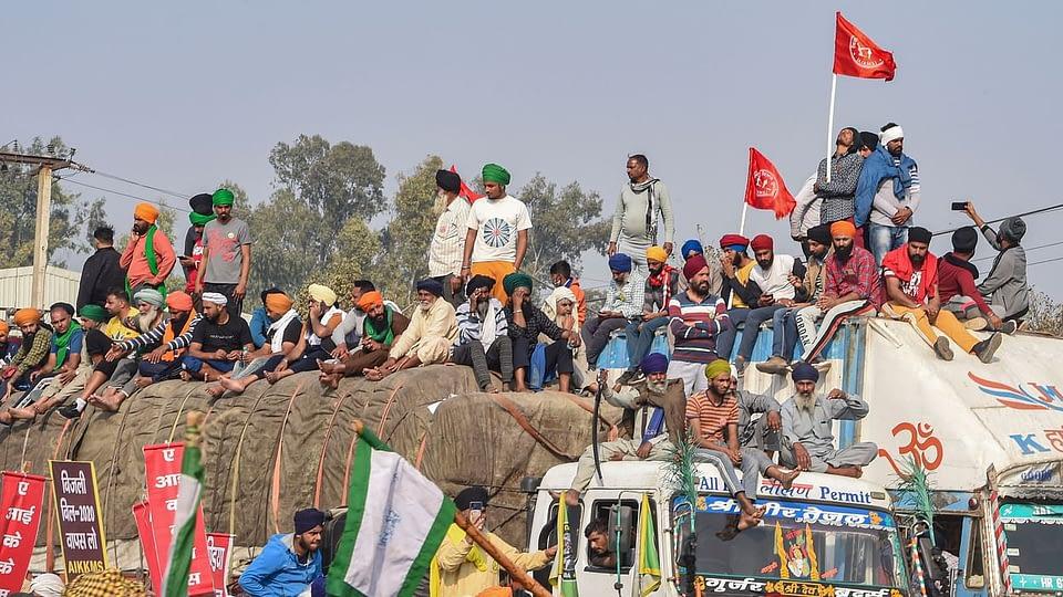 farmers' protest delhi