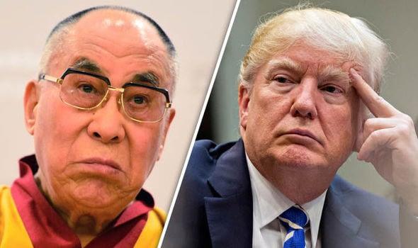 trump chinese president dalai lama