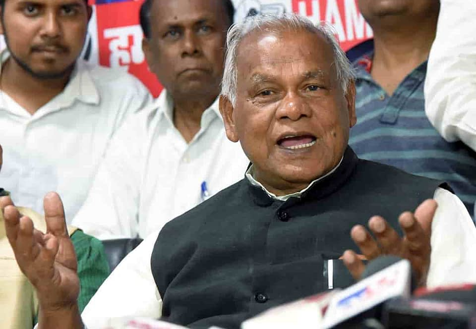 Manjhi's HAM quits Grand Alliance in Bihar ahead of polls-min