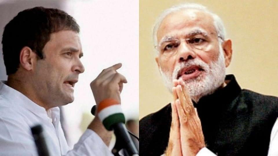 Rahul Gandhi and PM MODI on Farmers bill
